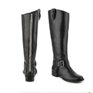 Flashback LEATHER riding boot Matisse Black 8.5NEW